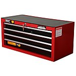 image of Halfords Professional 4 Drawer Intermediate Ball-Bearing Chest