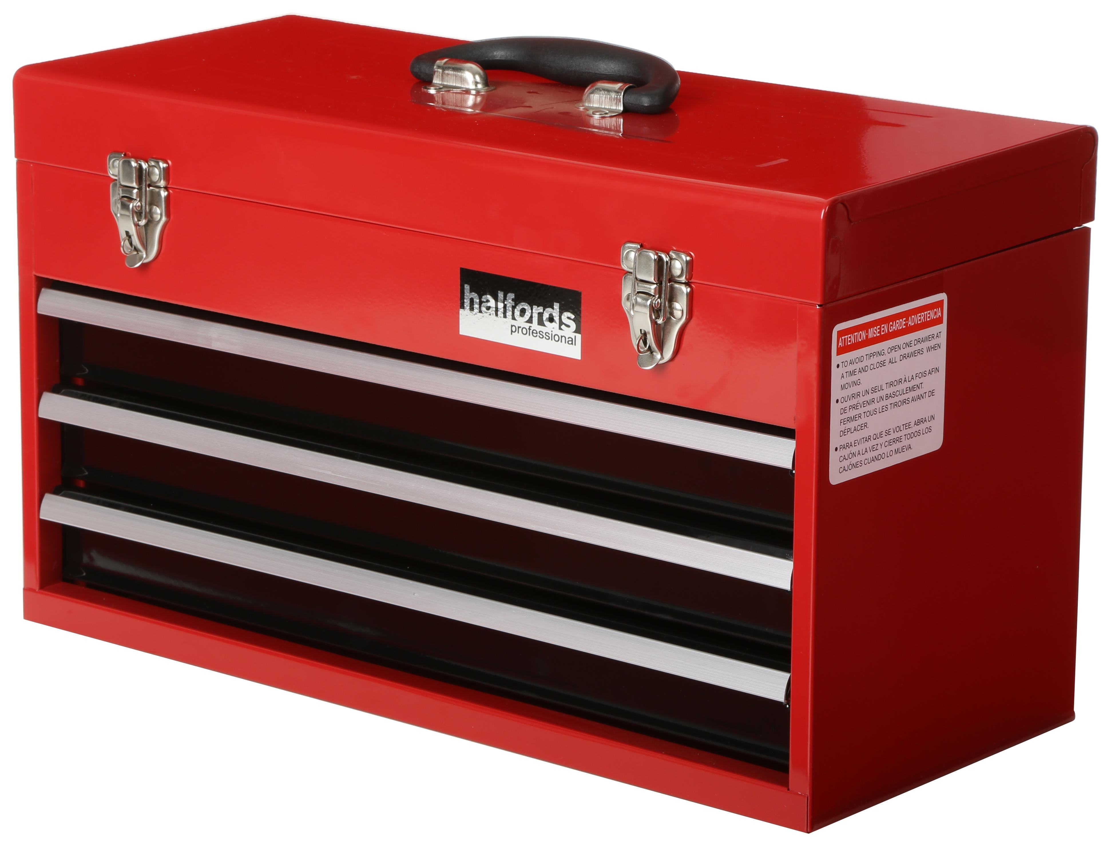 halfords industrial 3 drawer middle chest 1