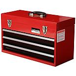 Halfords Professional 3 Drawer Metal Portable Tool Chest