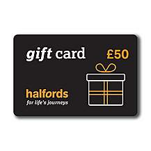 image of Halfords 50 Pound Gift Card