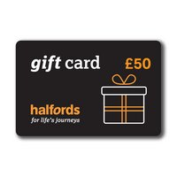 Halfords 50 Pound Gift Card