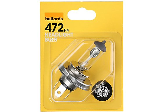 Halfords (HBU472) 60/55W Car Bulb x 1