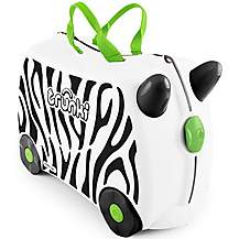 image of Trunki Zimba the Zebra Ride on Suitcase