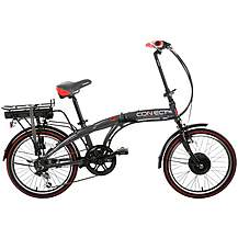 image of Coyote Connect Folding Electric Bike - Grey