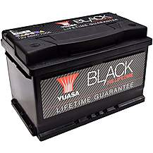 image of Yuasa Black Lifetime Guarantee Battery 010