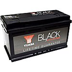 image of Yuasa Black Lifetime Guarantee Battery 019