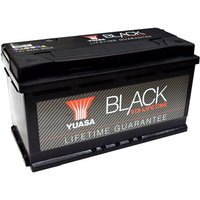 Yuasa Black Lifetime Guarantee Battery 019