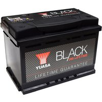 Yuasa Black Lifetime Guarantee Battery 096
