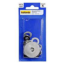 image of Halfords Assorted Metal Washers (HFX505)