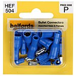 image of Halfords Assorted Bullet Connectors (HEF504)