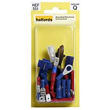 image of Halfords Assorted Electrical Connectors (HEF551)