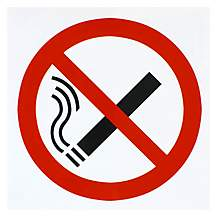 image of Halfords 'No Smoking' Sign