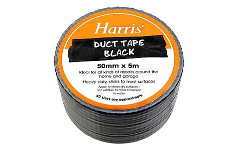 image of Harris Duct Tape Black 50mmx5m
