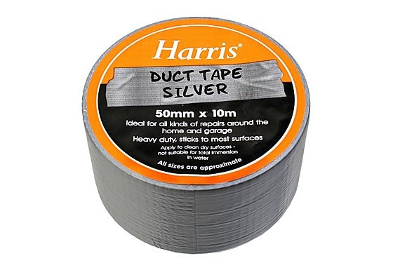 Harris Duct Tape Silver 50mmx10m