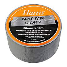 image of Harris Duct Tape Silver 50mmx10m