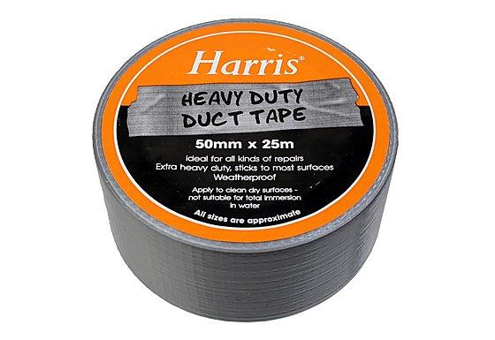 Harris Heavy Duty Duct Tape Silver (50mmx25m)