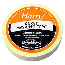 image of Harris Curve Masking Tape 25mmx25m
