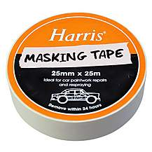 image of Harris Masking Tape 25mmx25m