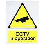 Halfords 'CCTV In Operation' Sign