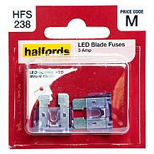 image of Halfords LED Blade Fuse 3 Amp
