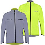 image of Proviz Switch Cycling Jacket Silver/ Yellow