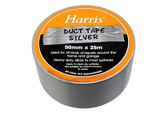 Harris Duct Tape Silver 50mmx25m