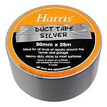 image of Harris Duct Tape Silver 50mmx25m