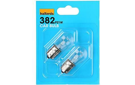 image of Halfords (HBU382) 21W Car Bulbs x 2