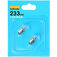 image of Halfords 233 T4W Car Bulbs x 2