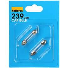 image of Halfords (HBU239) 5W Car Bulbs x 2