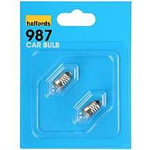 image of Halfords 987 Car Bulbs x 2