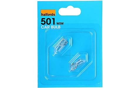 image of Halfords (HBU501) 5W Car Bulbs x 2