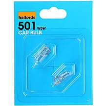 image of Halfords (HBU501) 5W Car Bulbs x 2