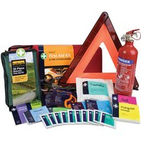 First Aid, Warning Triangle & Fire Extinguisher Kit