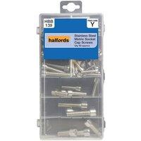 Halfords Assorted Stainless Steel Socket Cap Screws
