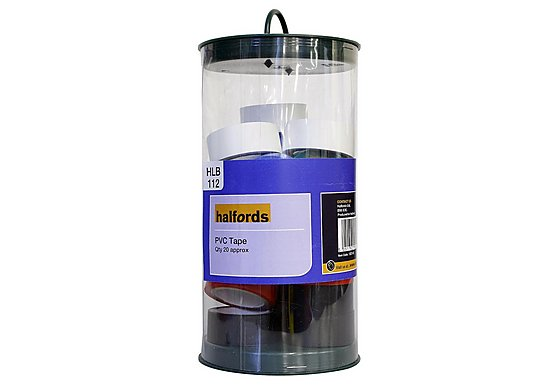 Halfords Assorted PVC Tape