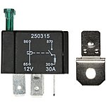 image of Halfords HEF553 Relay 12V 30A 4 PIN