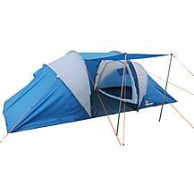 image of Aventura 4 Man Tunnel Tent - Blue