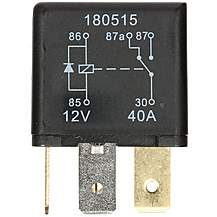 image of Halfords HEF559 Relay 12V 40A 5 PIN