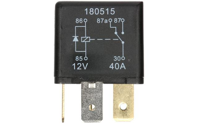 HEF559 Relay 12V 40A 5 PIN - Relay Switch Halfords