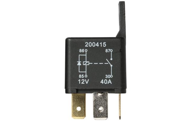 Halfords HEF560 Relay 12V 40A 4 PIN - Relay Switch Halfords