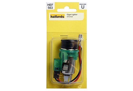 Halfords Universal Cigarette Lighter
