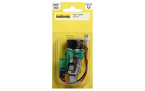 image of Halfords Universal Cigarette Lighter