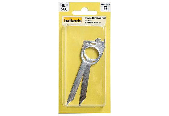 Halfords Stereo Removal Pins Din Type