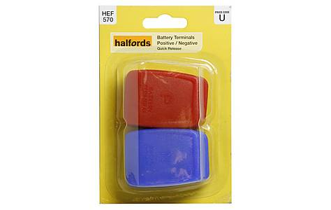 image of Halfords Battery Terminals - Quick Release