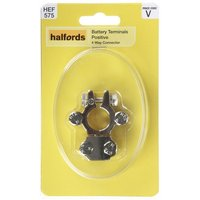 Halfords Battery Terminal Positive 4 Way Connector