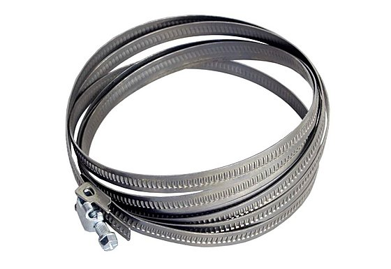 Halfords Quick Lock Hose Clip 25-700mm