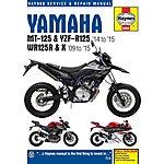 image of Haynes Yamaha MT-125, YZF-R125 & WR125R/X Manual