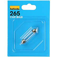 image of Halfords 265 Car Bulb x 1