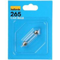 Halfords (HBU265) 10W Single Car Bulb